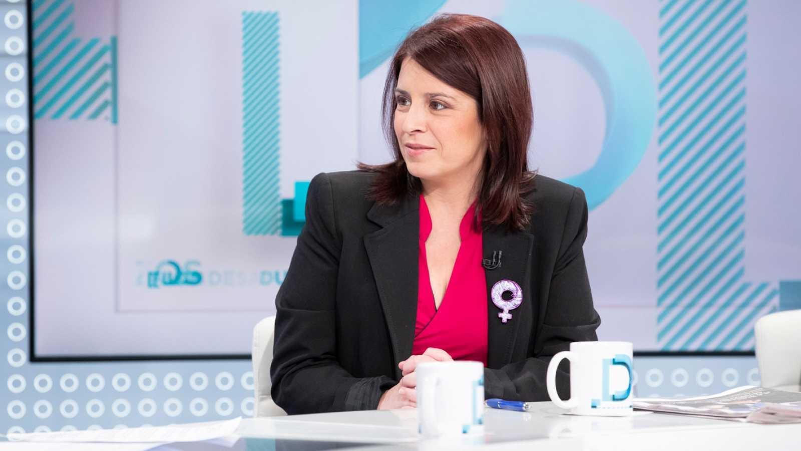 Lastra defiende la modificación de los delitos de sedición y rebelión para homologarlos en Europa y que no lo negoció con ERC