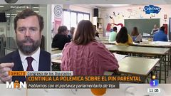 Vox justifica los bulos virales que usa en Twitter para defender el 'pin parental'