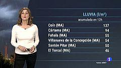 El tiempo en Andalucía - 23/01/2020