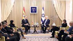 Felipe VI se reúne con el presidente de Israel para hablar de las relaciones entre ambos países