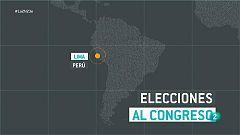 Perú elige el domingo a sus representantes en el Parlamento