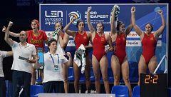 España se clasifica para la final contra Rusia tras vencer a Hungría
