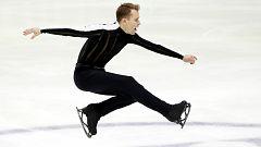 Patinaje artístico - Campeonato de Europa. Programa libre masculino