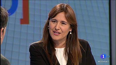 Laura Borràs, de JxCat, defensa un tancament de files amb Quim Torra a El Debat de La 1