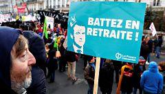Séptima huelga general en Francia tras siete semanas de conflicto contra la reforma de las pensiones