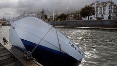Poligonos industriales y puertos deportivos cerrados por el temporal.