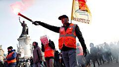 Nuevas protestas en Francia contra la reforma de las pensiones