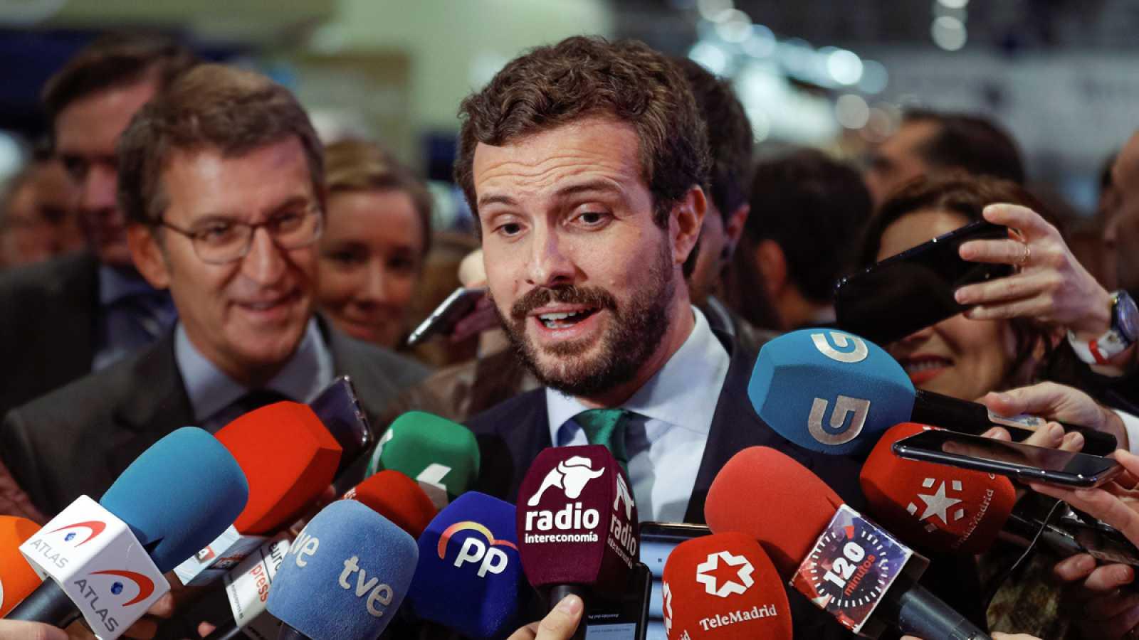 Casado exige la dimisión de Ábalos si se demuestra que se reunió con la vicepresidenta venezolana