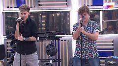 """OT 2020 - Hugo y Gèrard interpretan """"Sucker"""" en el segundo pase de micros de la Gala 2 de """"Operación Triunfo 2020"""""""
