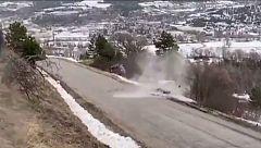 Brutal accidente de Ott Tänak durante el rally de Montecarlo
