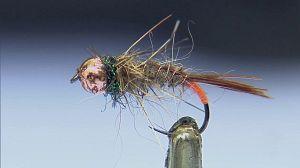 Pesca de trucha en Bárcena Mayor