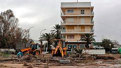La borrasca Gloria remite pero deja doce muertos, cuatro desaparecidos y daños millonarios