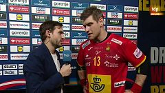 """Julen Aguinagalde: """"El equipo ha sabido competir hasta el último minuto y ahora a por Croacia el domingo"""""""
