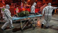 Médicos del ejército chino se preparan para librar la batalla al coronavirus en Wuhan