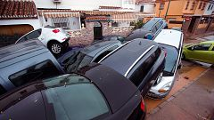 El temporal deja inundaciones en casas y garajes en Málaga