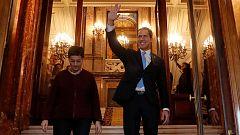 Juan Guaidó llega a España, donde cierra su gira por Europa