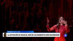 Uno de los momentos más impactantes de los Goya 2019