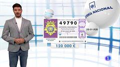 Lotería Nacional - 25/01/20