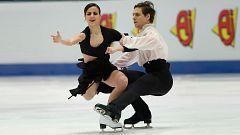 Patinaje artístico - Campeonato de Europa. Programa libre danza