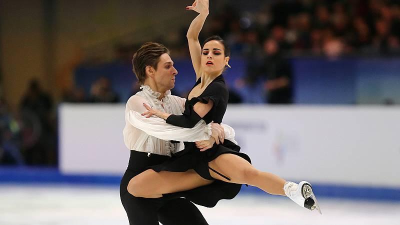 Sara Hurtado y Kirill Khaliavin, séptimos de Europa