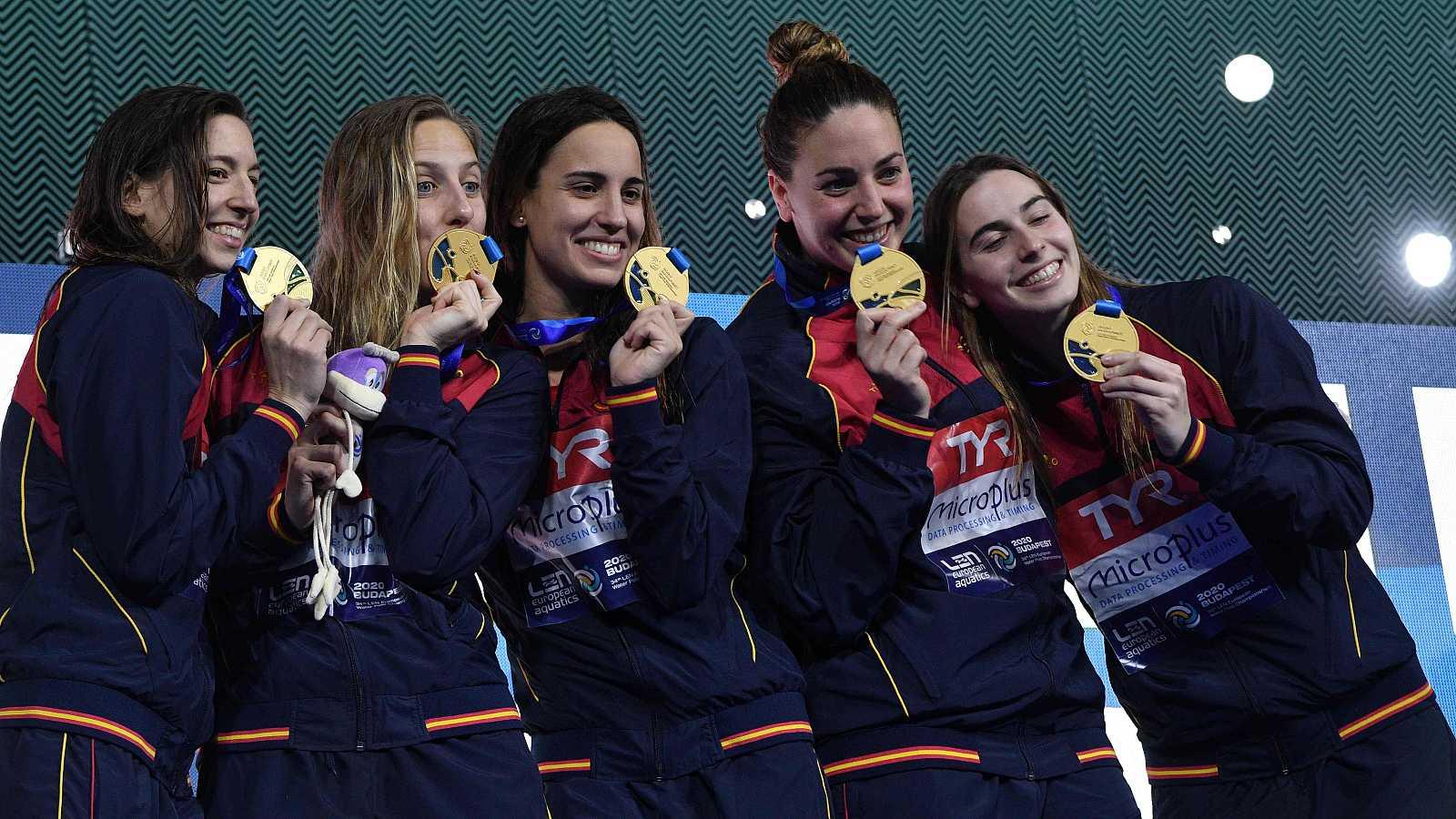 Resumen de la final del Europeo de waterpolo: España 13-12 Rusia