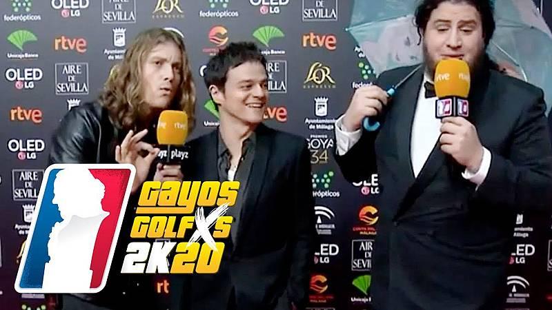 Grison y Caravaca lo petan en la alfombra con su 'beat 'box' con Jamie Cullum y muestran sus habilidades con el inglés.