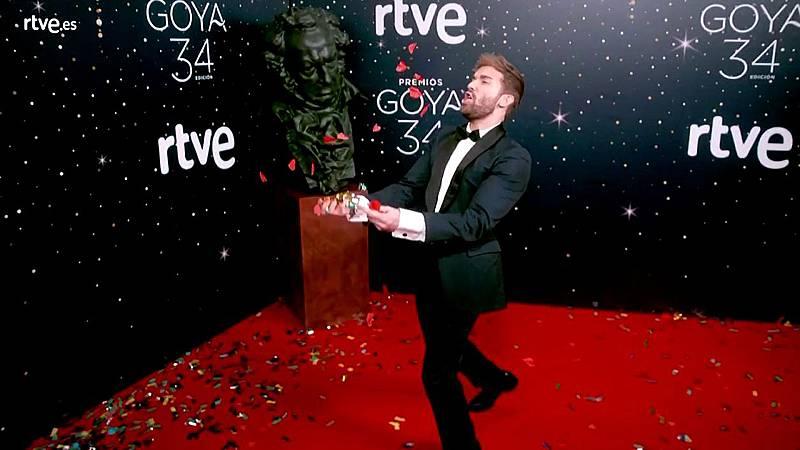 Premios Goya - Pablo Alborán, malabarista en la cámara glamur de los Goya