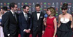 """Los directores de 'La trinchera infinita', sobre el rodaje: """"Nos sentimos arropados por el equipo andaluz"""""""