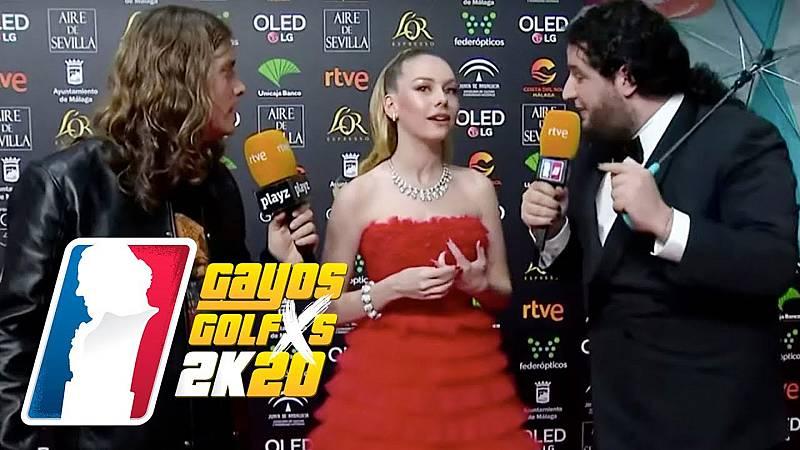 Los actores de la serie 'Élite' Ester Expósito y Jaime Lorente también han pasado por el set de Grison y Caravaca. Ella ha contado algo de su nueva aventura americana y él de su barrio de Murcia.
