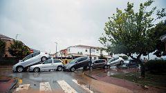 Los últimos coletazos de 'Gloria' dejan destrozos e inundaciones en Málaga