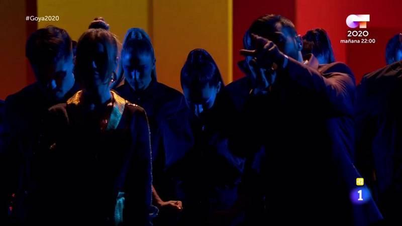 Homenaje musical al cine español, en el arranque de la gala de los Goya