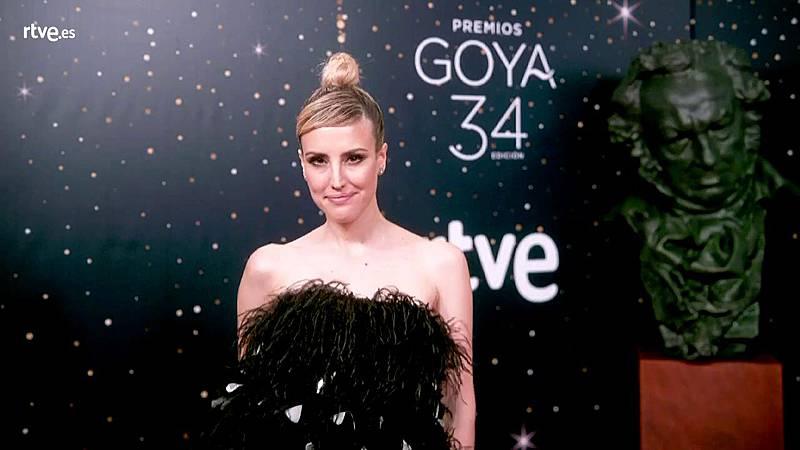 Premios Goya - Natalia de Molina posa en la cámara glamur antes de saber si gana su tercer Goya