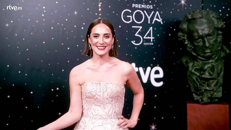 Premios Goya - Tamara Falcó, en la cámara glamur de los Goya