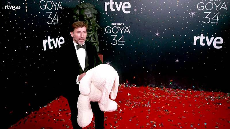 Premios Goya - Antonio de la Torre, nominado a mejor actor protagonista, en la cámara glamur