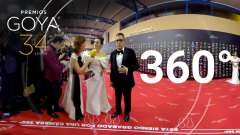Andreu Buenafuente y Silvia Abril descubren la cámara 360º de los Premios Goya 2020