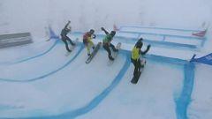 Snowboard - Copa del mundo Finales Snowboardcross. Prueba Big White