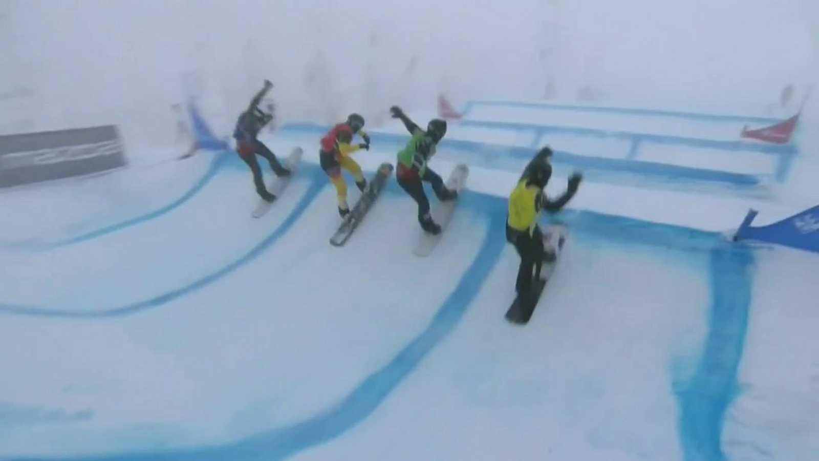 Snowboard - Copa del mundo Finales Snowboardcross. Prueba Big White - ver ahora