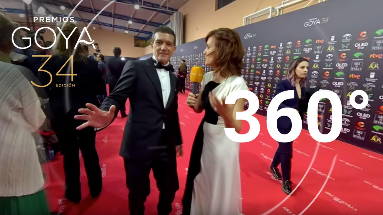 Los Goya en 360: Mejores momentos de la alfombra roja