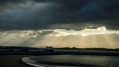 Predominio de cielos nubosos y viento fuerte en el noroeste peninsular