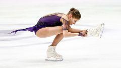 Patinaje artístico - Campeonato de Europa. Programa libre femenino