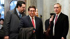Los abogados de Trump lanzan una agresiva defensa contra el caso de los demócratas en el 'impeachment'