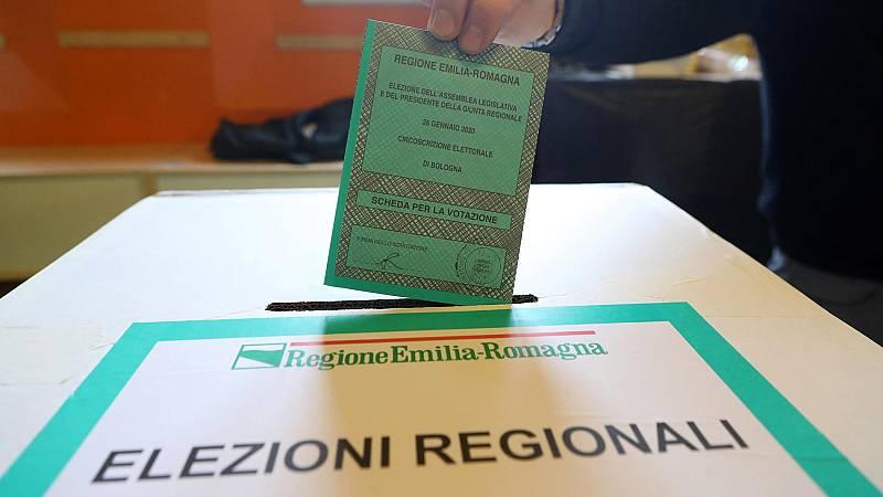 Italia celebra elecciones regionales en clave nacional