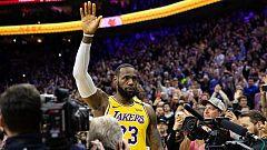 LeBron James supera a Kobe Bryant como tercer máximo encestador en la historia de la NBA