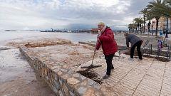 Manifestación en Los Alcázares para reclamar medidas contra las inundaciones