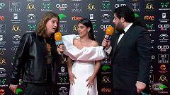 Goya 2020 | Lo mejor de la alfombra roja de los Gayos Golfxs: del beso de Dulceida al rap de Pablo Alborán