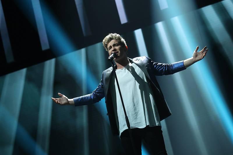 """Nick canta """"Jealous"""", de Labrinth, en la Gala 2 de """"Operación Triunfo 2020"""""""