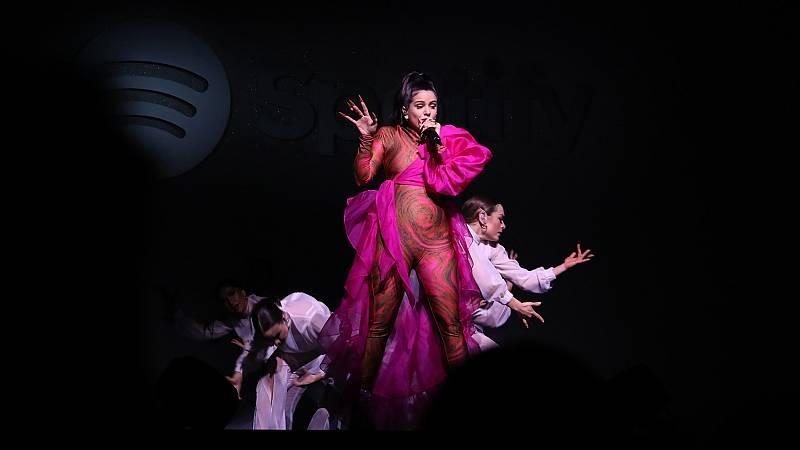 Rosalía, entre las favoritas para los Grammy