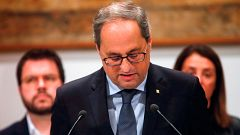 El secretario general del Parlament tramita la orden de la Junta Electoral de cesar a Torra como diputado