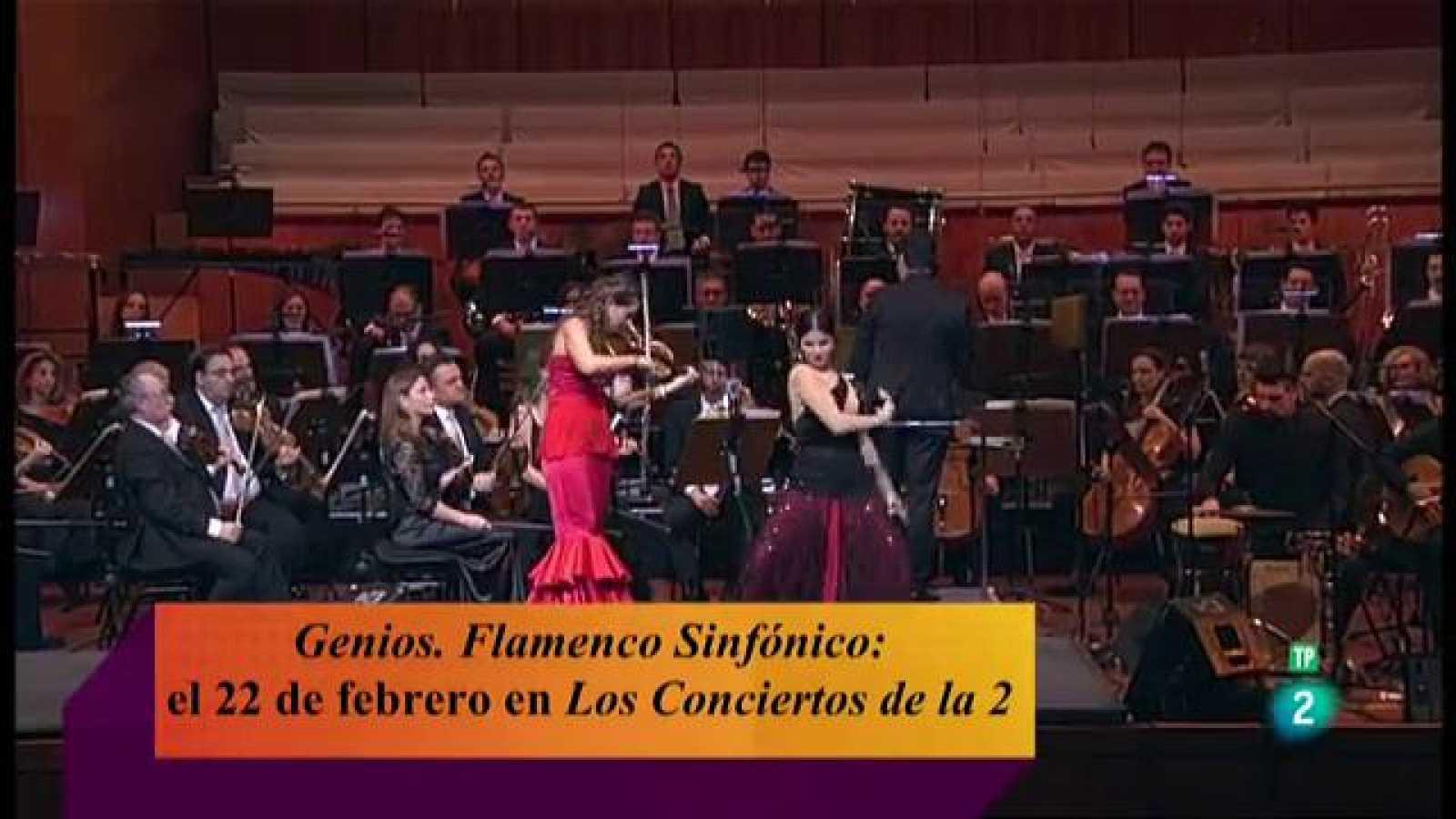 'Genios', flamenco sinfónico en TVE