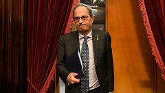 La Mesa del Parlament avala retirar el acta de diputado a Quim Torra